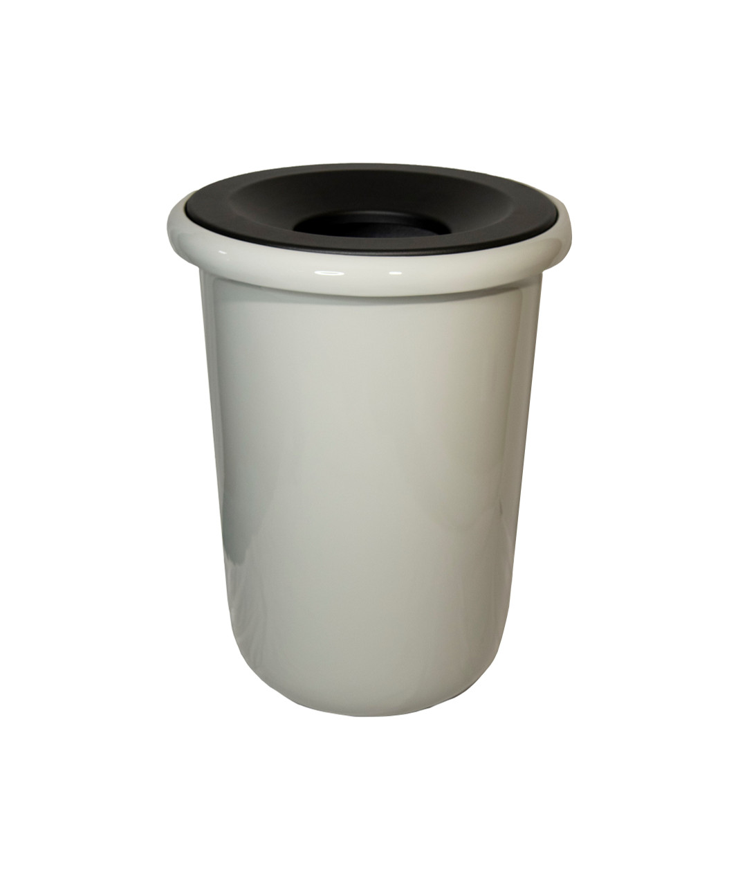 32 Gallon Fiberglass BOSTON Decorative Trash Receptacle