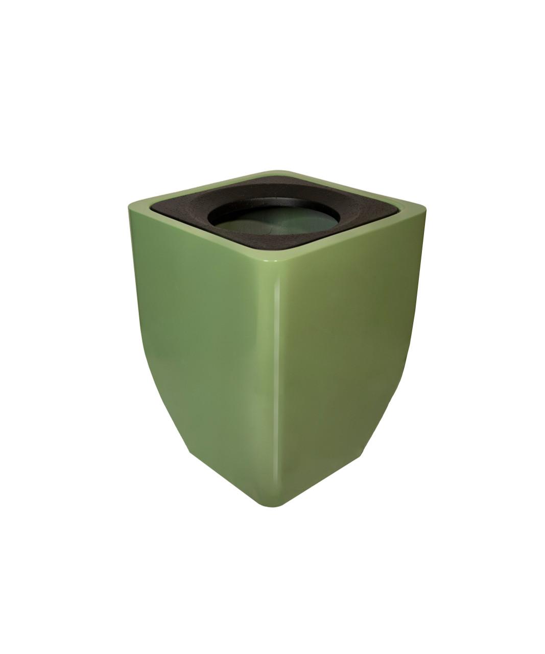 40 Gallon Fiberglass OXFORD Decorative Trash Receptacle