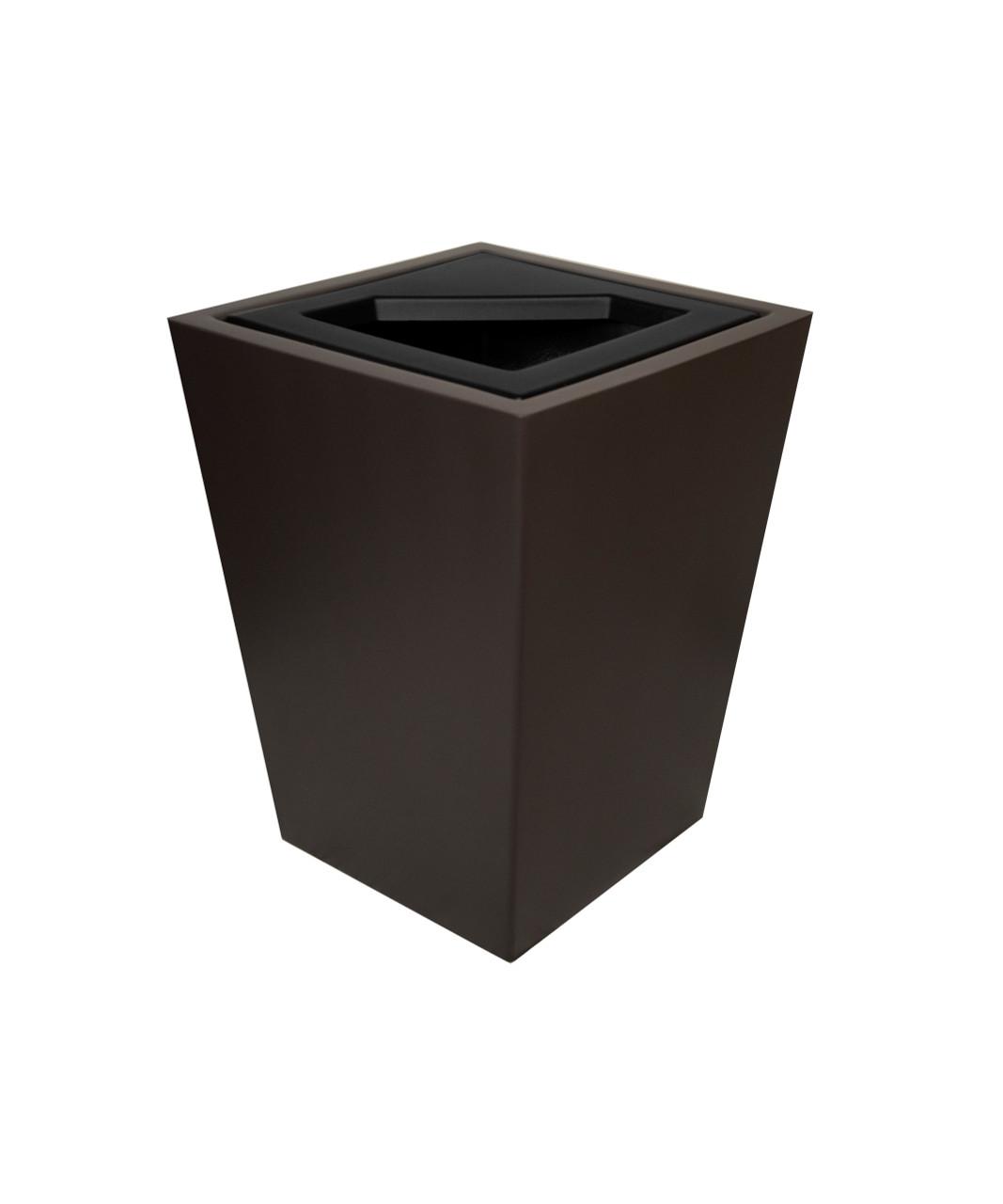32 Gallon Fiberglass WINDSOR Decorative Trash Receptacle