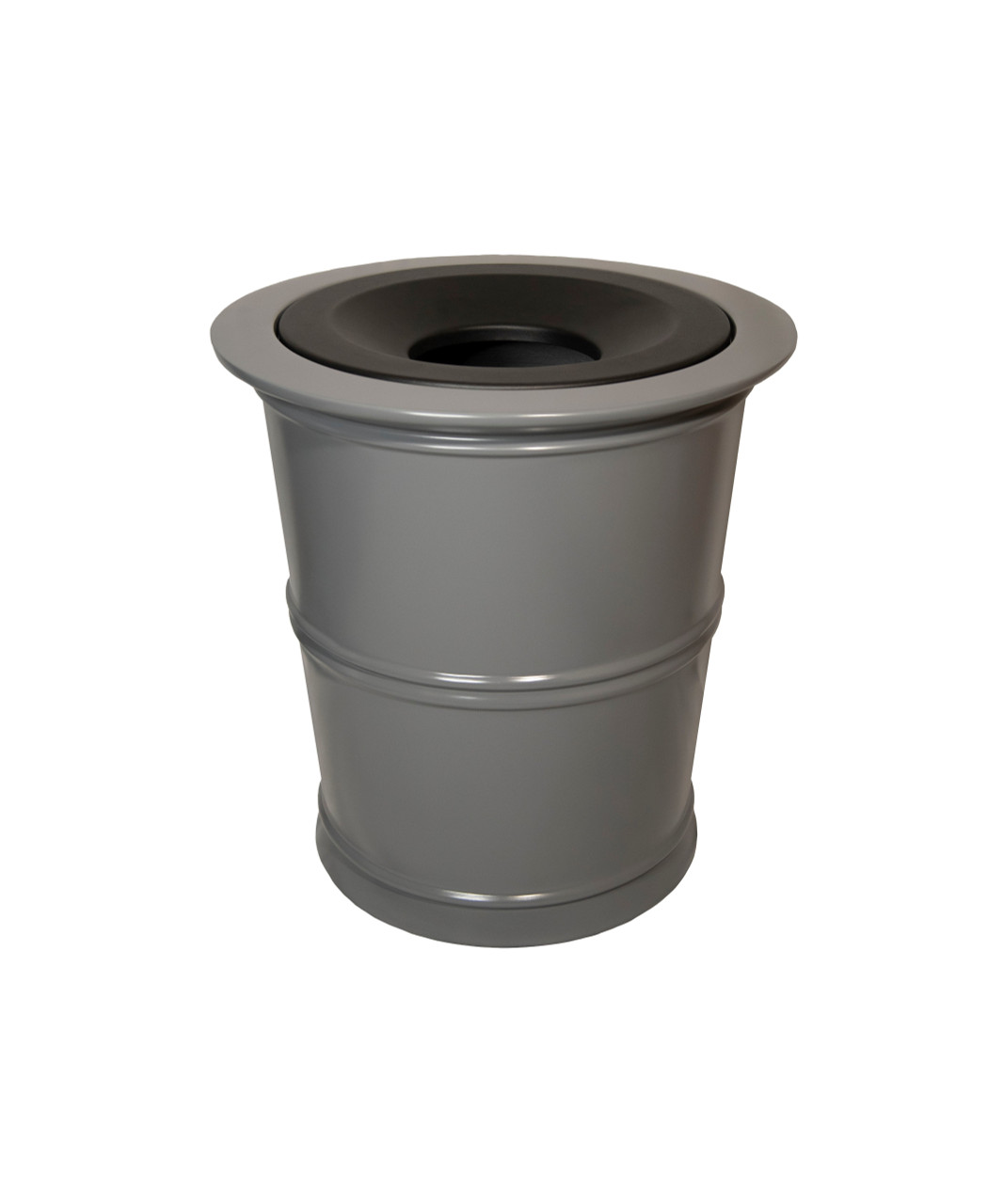 32 Gallon Fiberglass BRADFORD Decorative Trash Receptacle