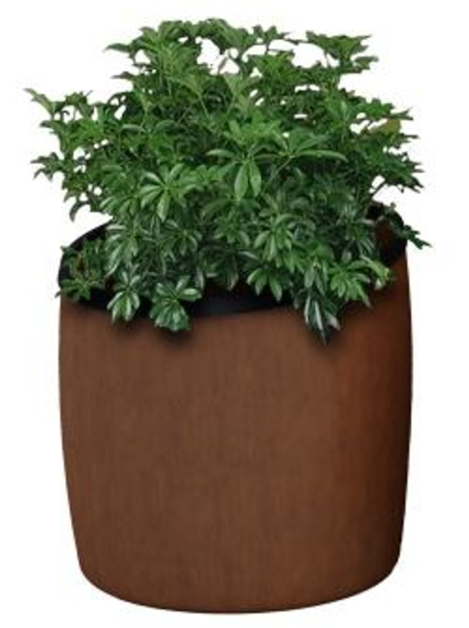 10 Gallon Garden Series Plastic Faux Wood Planter 756341 Walnut