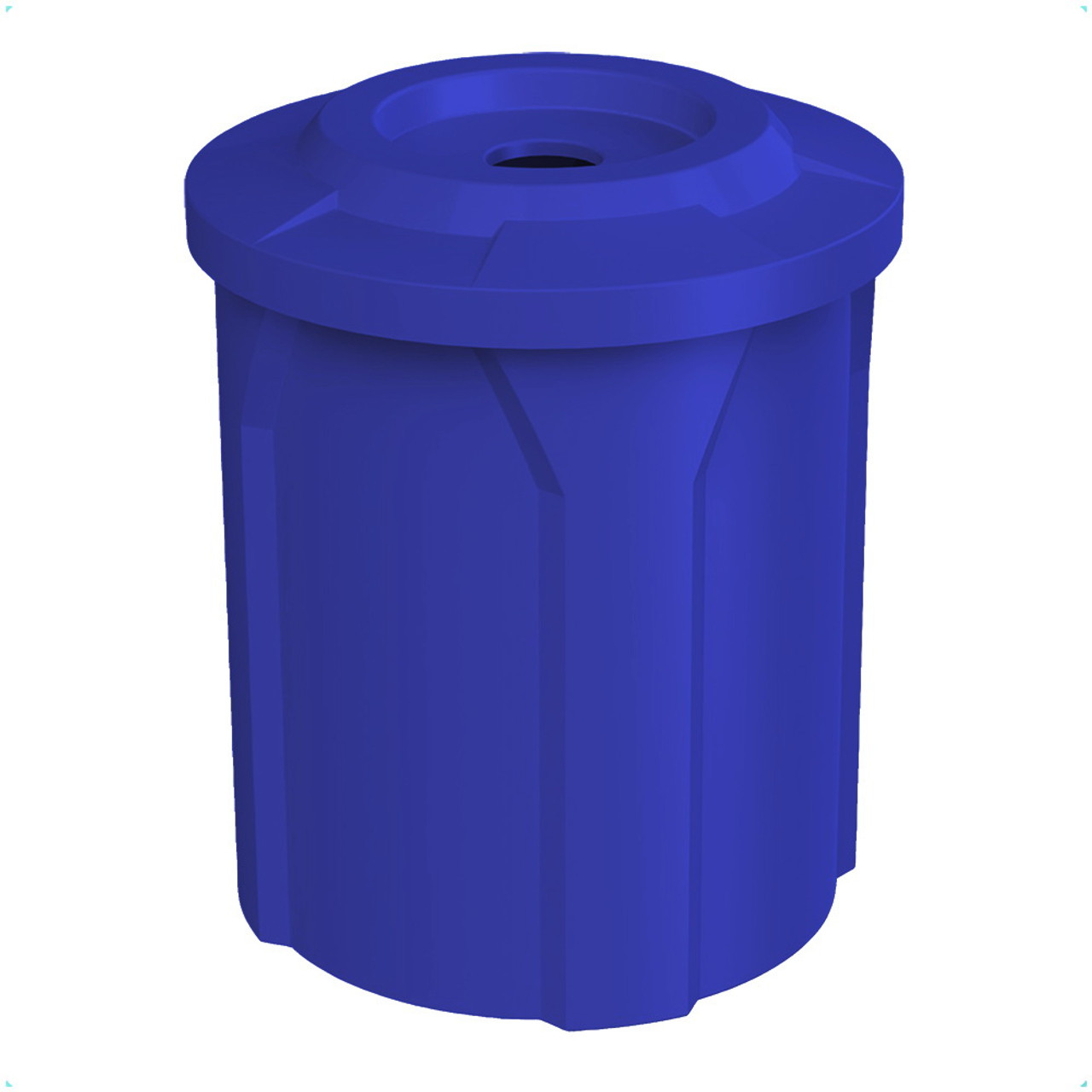 42 Gallon Trash Can with 4 Inch Opening Lid