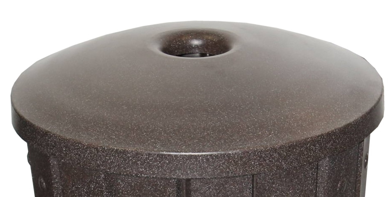 Round Mushroom Top Lid for 55 Gallon Drums 4 Inch Opening