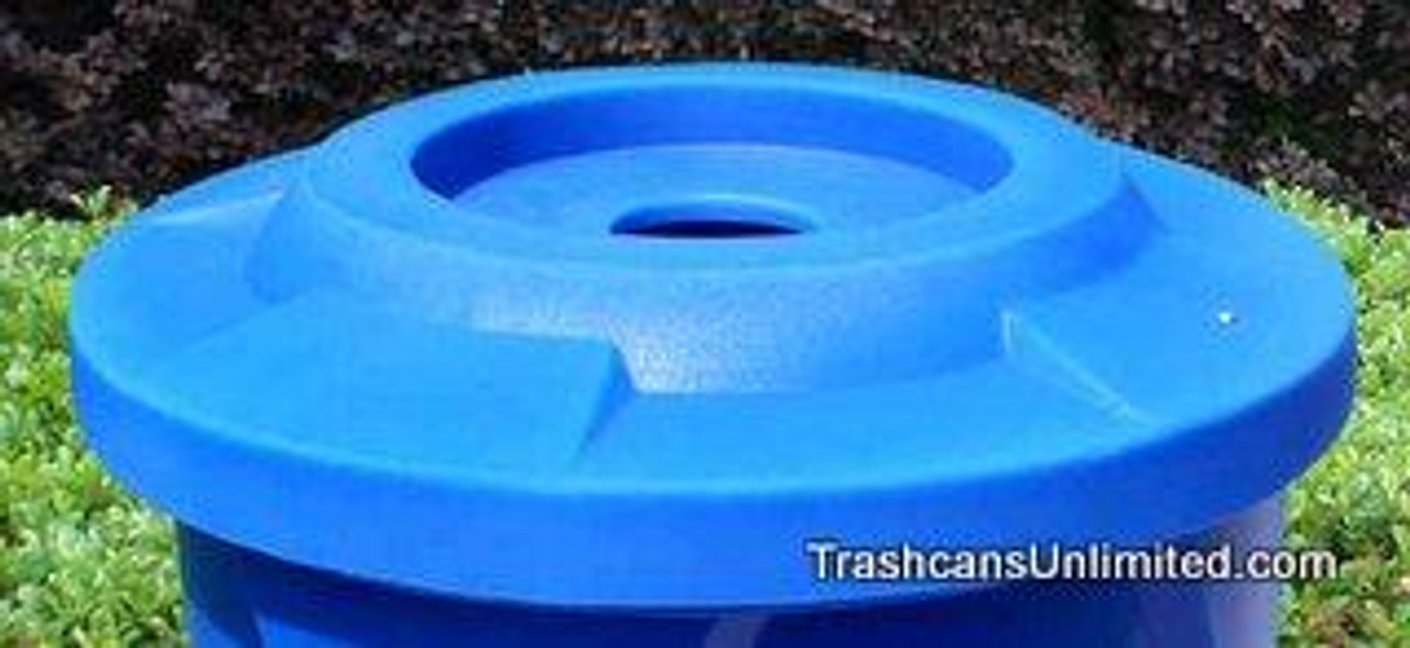 Round Flat Top Lid for 55 Gallon Drums 4 Inch Opening