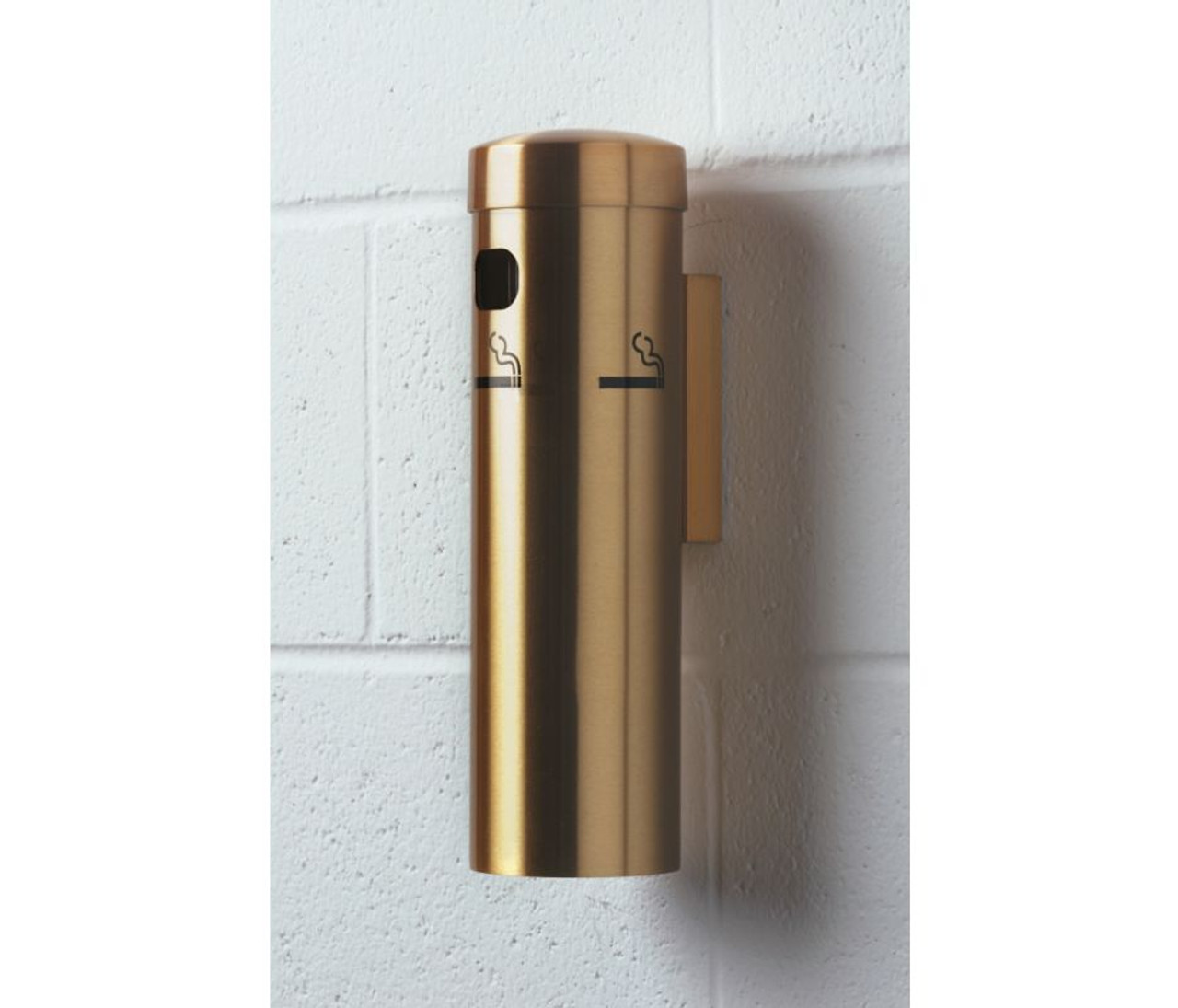 Satin Brass Wall Mounted Ashtray