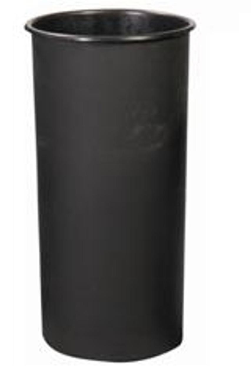 20 Gallon Witt Round Rigid Plastic Liner Black