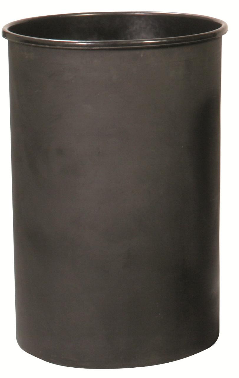 Witt Round Rigid Plastic Liner Black 55 Gallon