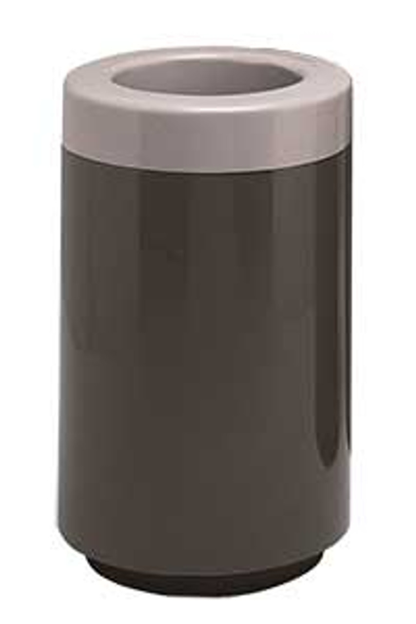 19 Gallon Top Entry Round 7C1831T Fiberglass Waste Receptacle