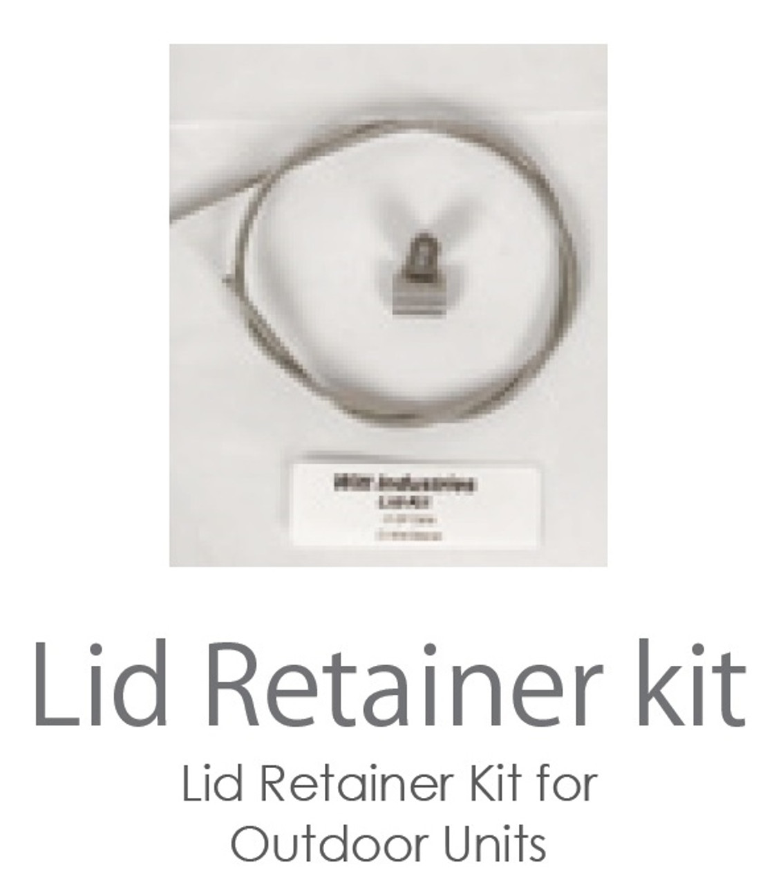 Optional Lid Cable Kit
