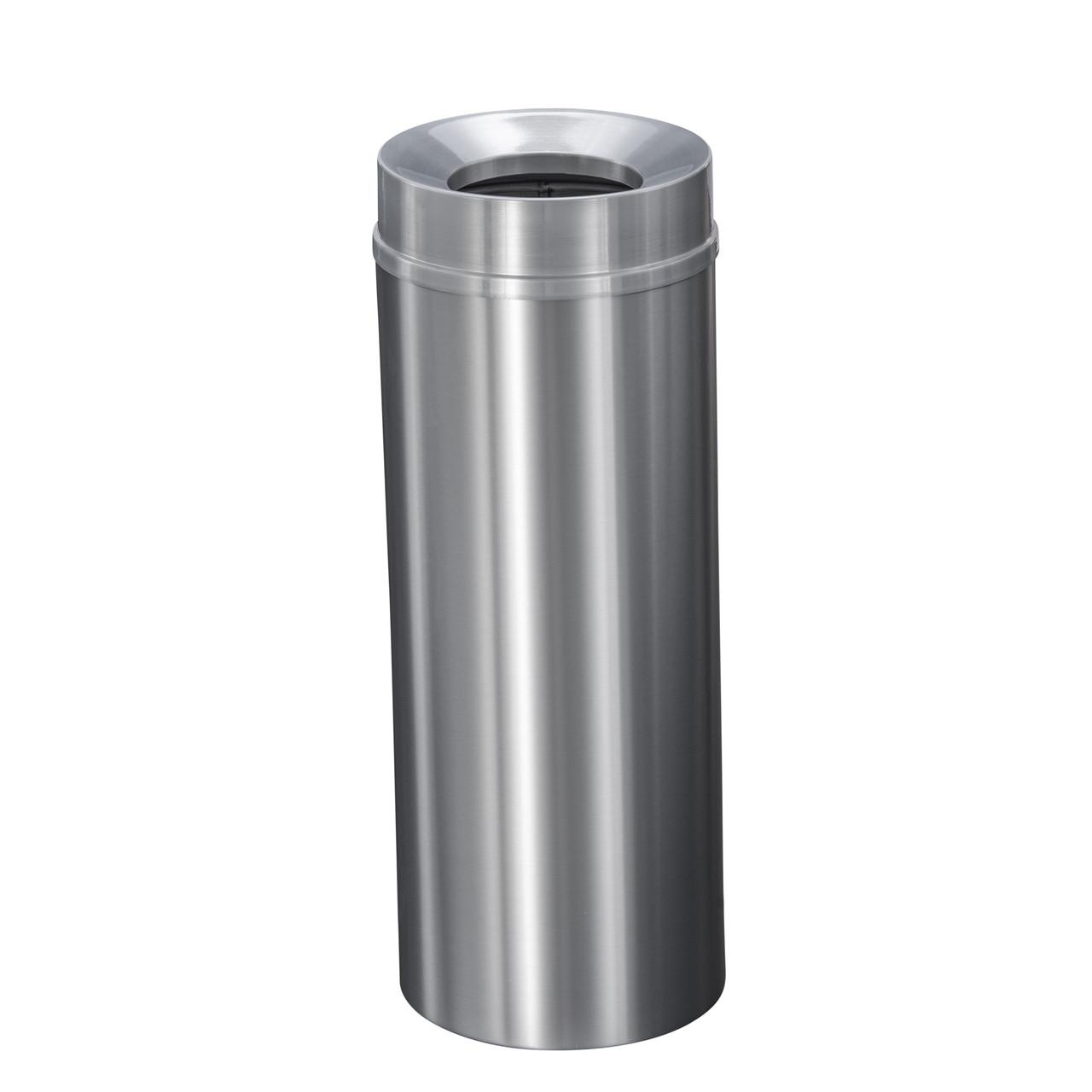 New Yorker 12 Gallon F1232SA Funnel Top Trash Receptacle w/Plastic Liner