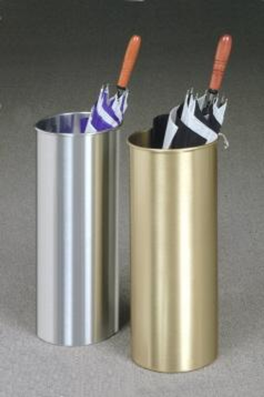Glaro Satin Brass and Aluminum Umbrella Stands