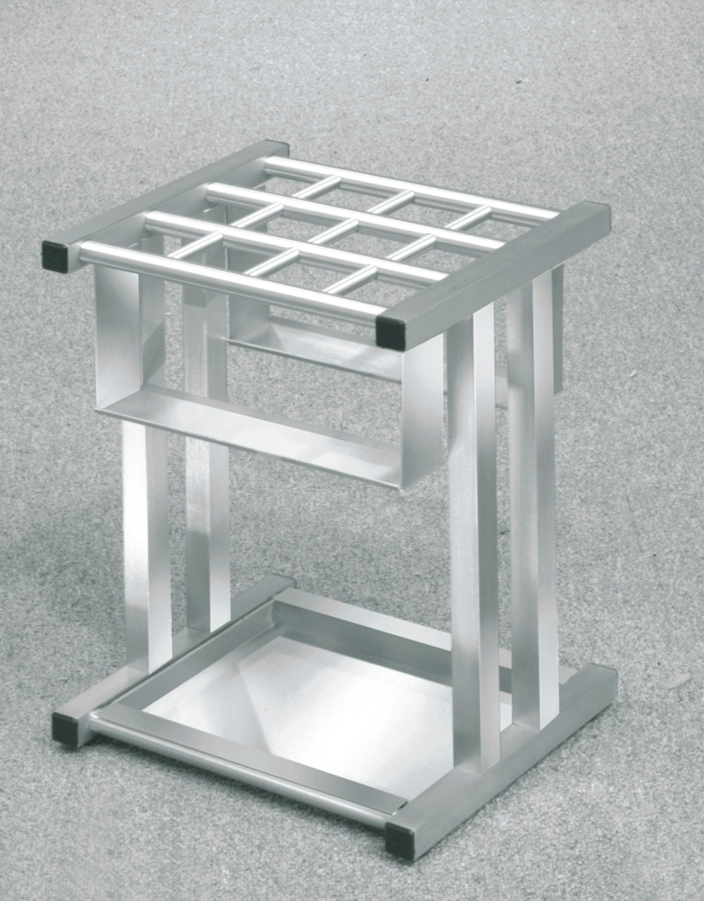 Glaro 1690SA Satin Aluminum Umbrella Stand