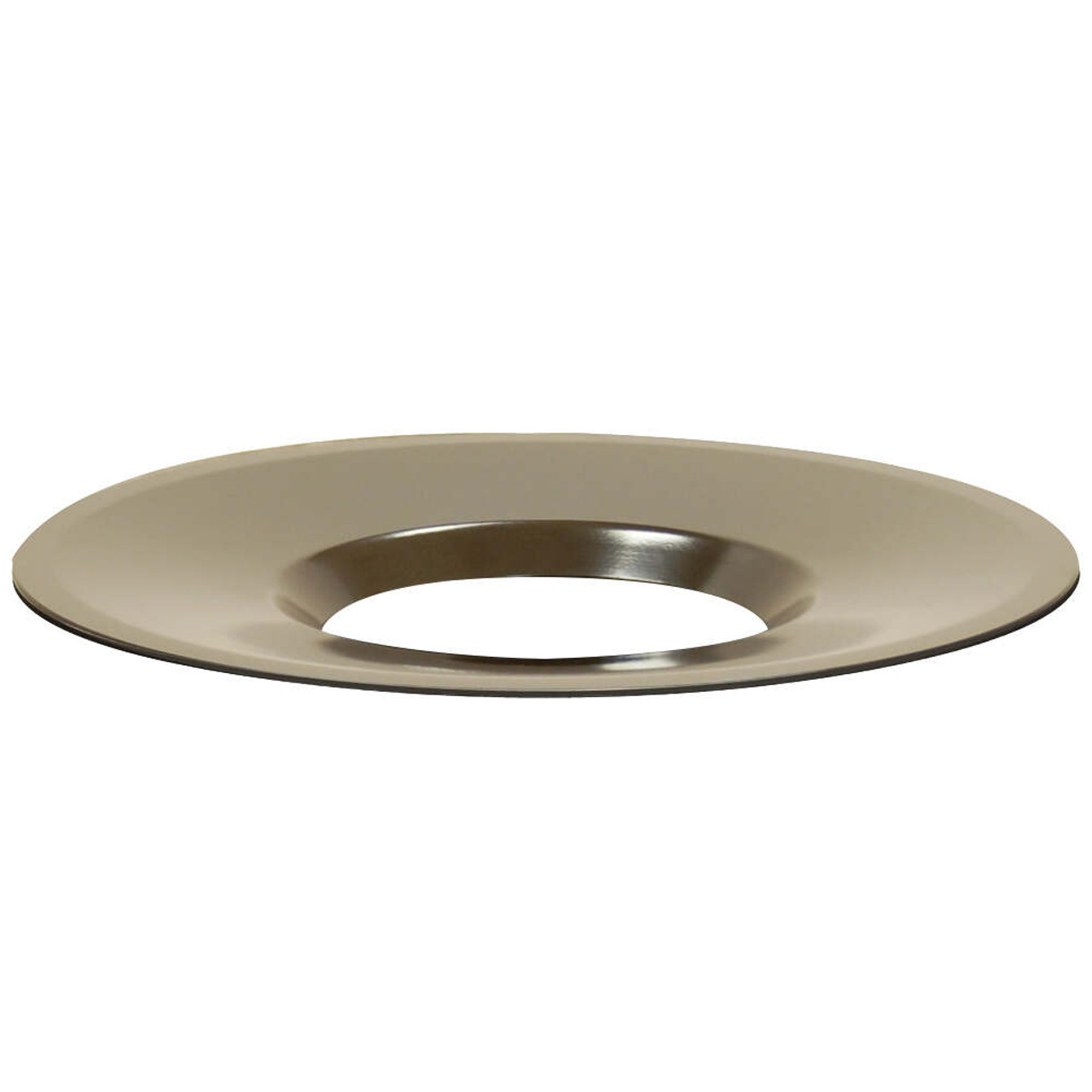 Round Aluminum Funnel Top Trash Can Lid for Concrete Garbage Cans
