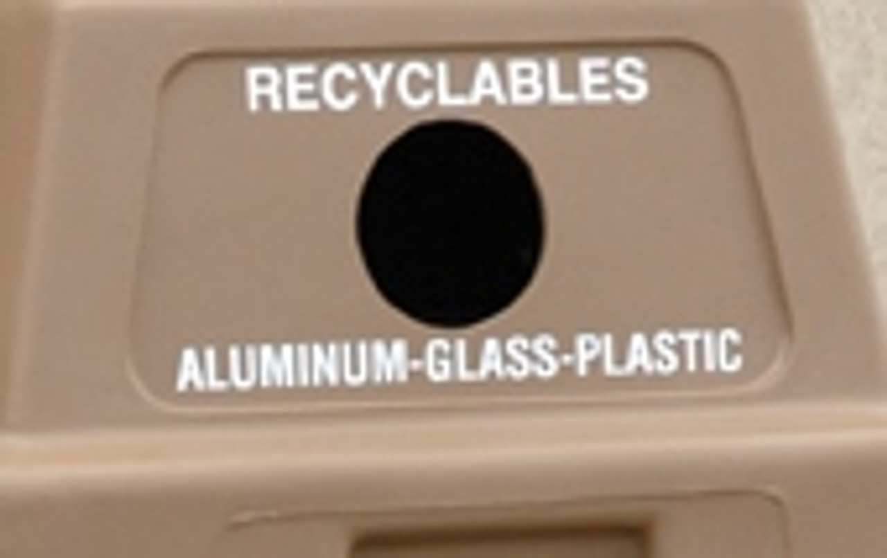 Recyclables (Aluminum-Glass-Plastic)