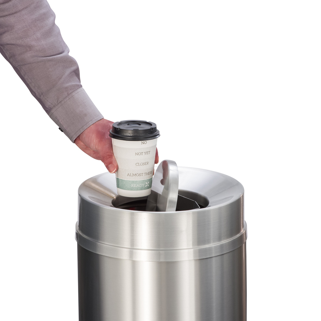 Flip Top to Conceal Odors
