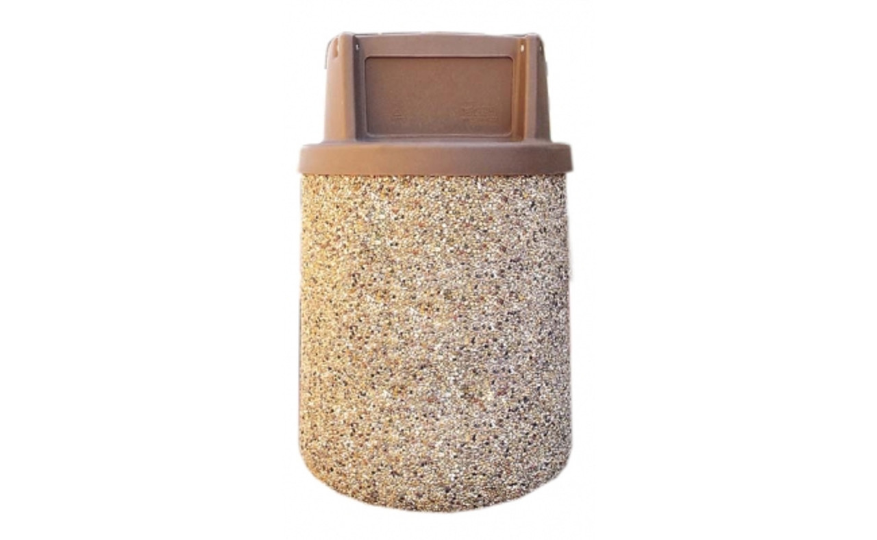 Waste Container TF1170 Exposed Aggregate