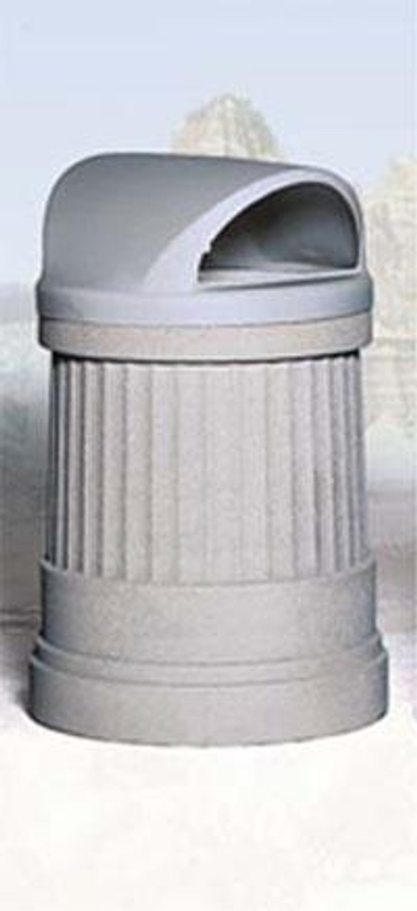 2 Way Dome Top Outdoor Waste Container TF1191