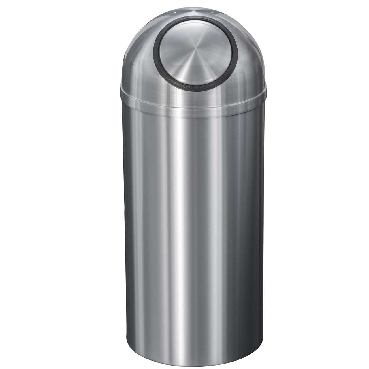 New Yorker 16 Gallon S1536SA Dome Top Trash Receptacle w/Plastic Liner