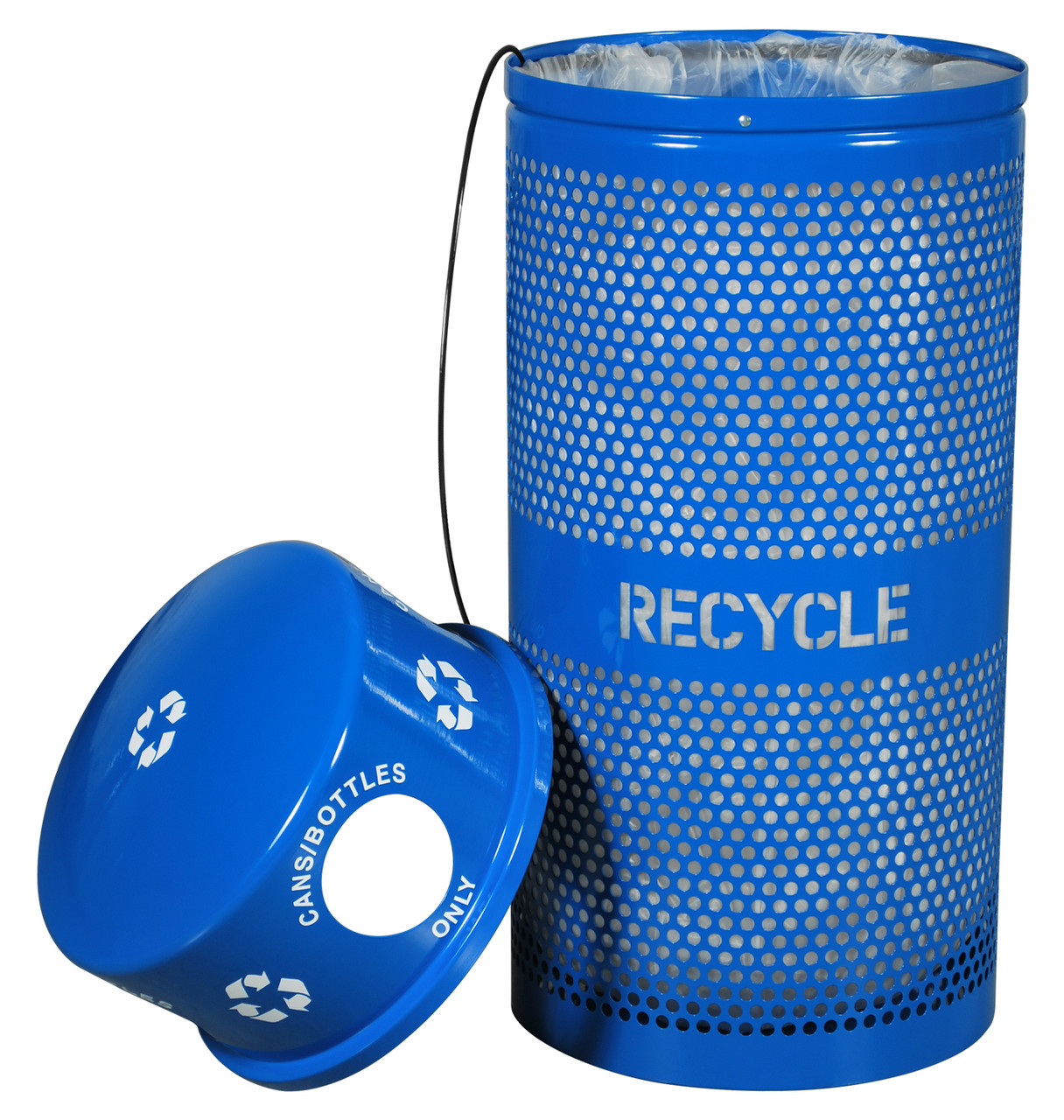 Recycling Receptacle for Cans/Bottles