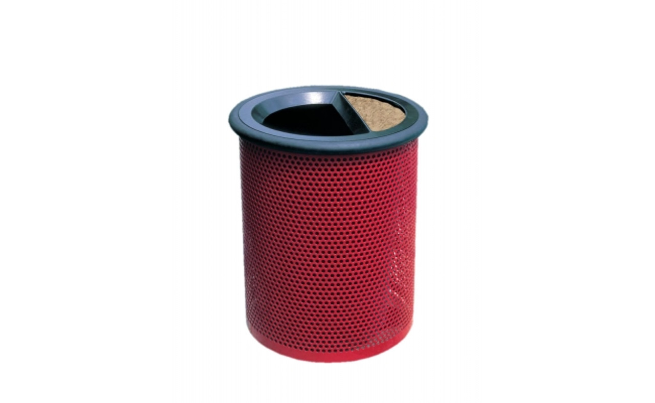 Outdoor Waste Container MF3005 with Black Rim