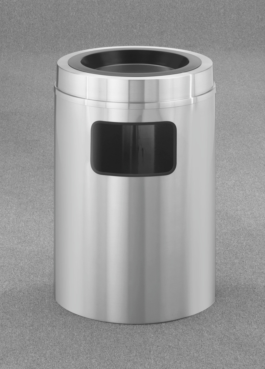 New Yorker 17 Gallon C2031SA Sand Top Ash Trash Can w/Plastic Liner