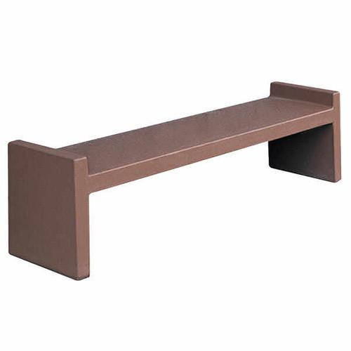 6 Foot Indoor Outdoor Concrete Park Bench TF5025
