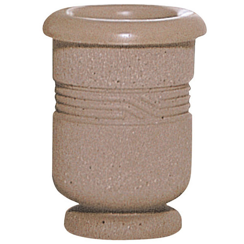 Concrete Ash Urn Outdoor Ashtray Smokers Receptacle WS2012