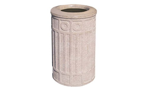 Concrete Ash Urn Outdoor Ashtray Cigarette Smokers Receptacle WS2006