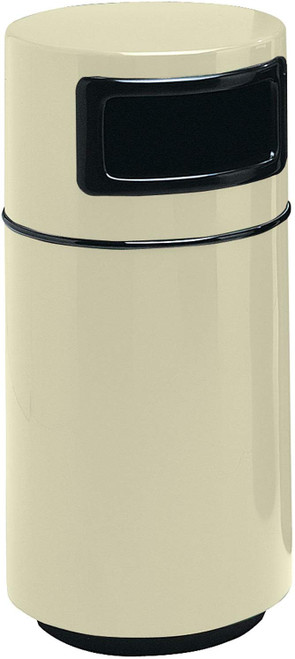 32 Gallon Side Entry Round 7C2040T Fiberglass Waste Receptacle
