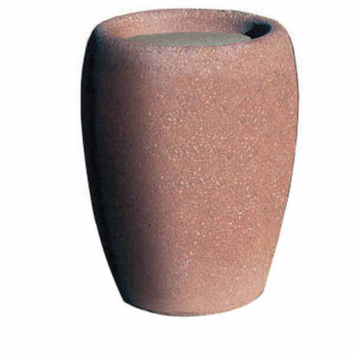 Concrete Ash Urn Outdoor Ashtray Smokers Receptacle TF2032