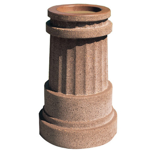 Concrete Ash Urn Outdoor Ashtray Smokers Receptacle TF2020