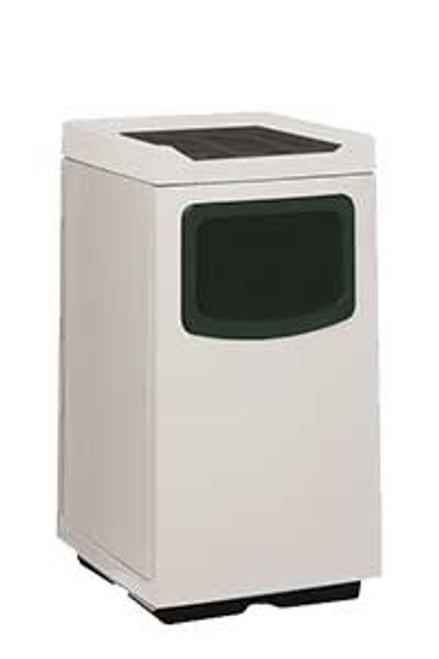 45 Gallon Food Court 77S2444FC Fiberglass Waste Receptacle