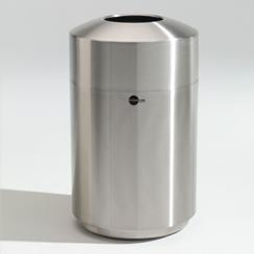 39 Gallon Cleanline Stainless Steel Top Load Trash Can 39TL