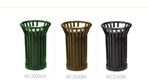 Metal Mesh Wydman WC2000 Outdoor Ashtray 3 Colors