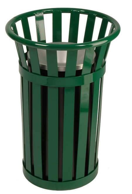 Witt Industries Oakley M2000 Outdoor Cigarette Ash Receptacle Green