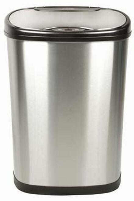 13 Gallon Touchless Automatic Kitchen Trash Can Stainless Steel DZT-50-13