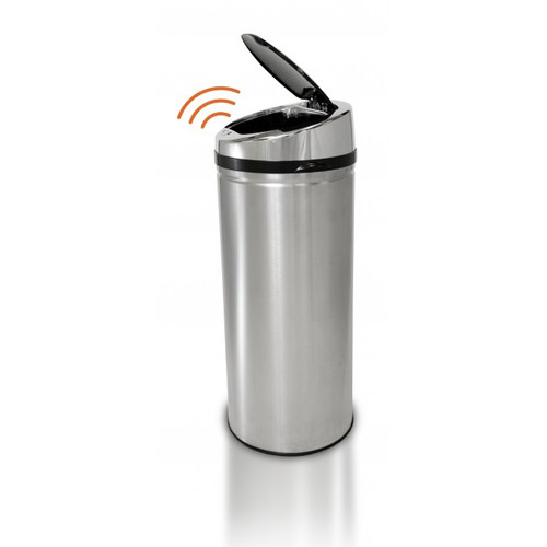 Touchless Automatic Trash Can 11 Gallon Stainless Steel NX