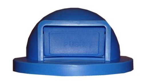 Plastic Trash Can Lid for 55 Gallon Drum Receptacles