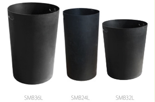 24 - 36 Gallon Witt Industries Round Plastic Liners SMBLINER (3 Sizes)