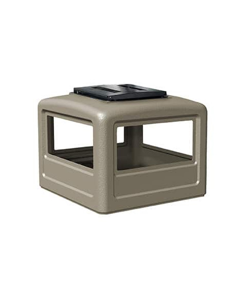 Lid with Ashtray Beige