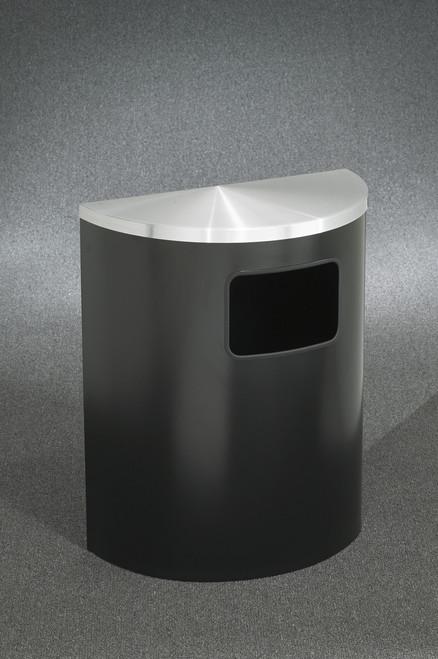 in Satin Black with Satin Aluminum Cover