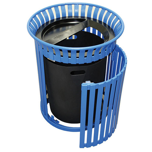 36 Gallon Outdoor Ash Trash Container with Side Door MF3223