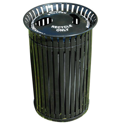 32 Gallon Top Entry Outdoor Recycling Lid Waste Receptacle MF3226