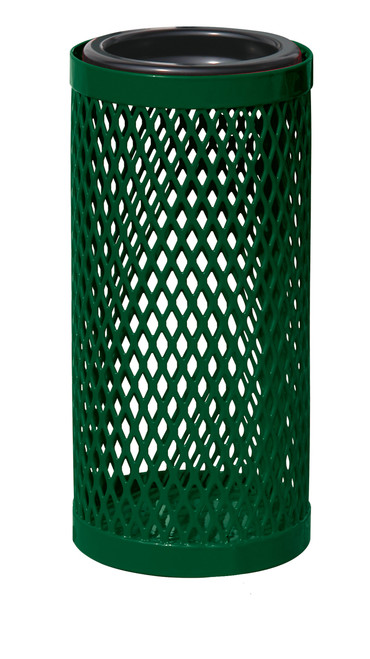 3 Gallon Ultra Site Metal Mesh Thermoplastic Outdoor Ashtray EX12 (8 Colors)
