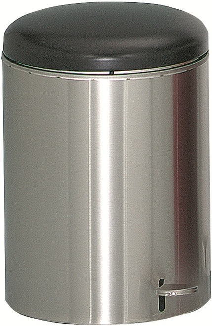 4 Gallon Stainless Steel Step Can OSHA Compliant Steel Liner 2240SS