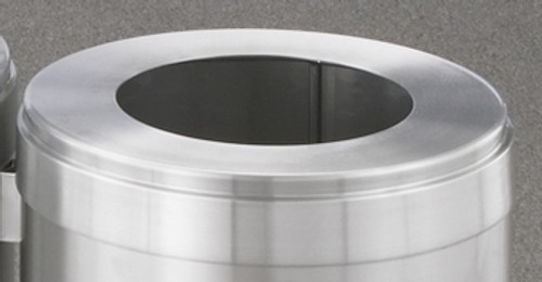 Glaro Waste Lid Satin Aluminum