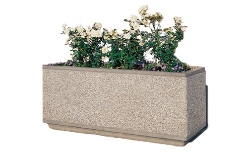 Concrete Planter TF4169 Exposed Aggregate
