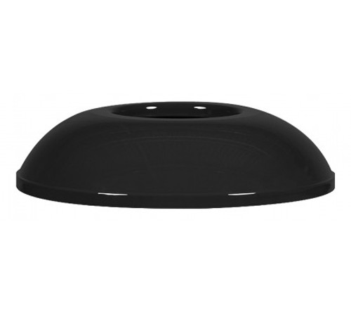 Black Gloss Trash Can Lid