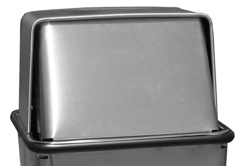 13 x 13 Metal Stainless Steel Push Top LID ONLY for 13HTSS