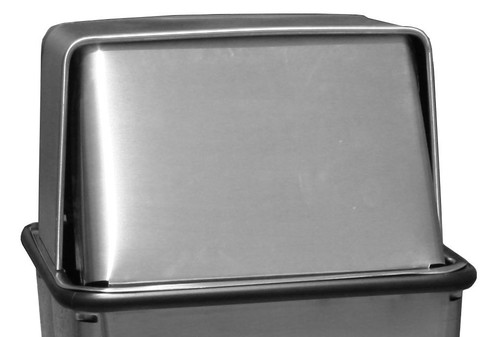 14 x 14 Metal Stainless Steel Push Top LID ONLY for 21HTSS